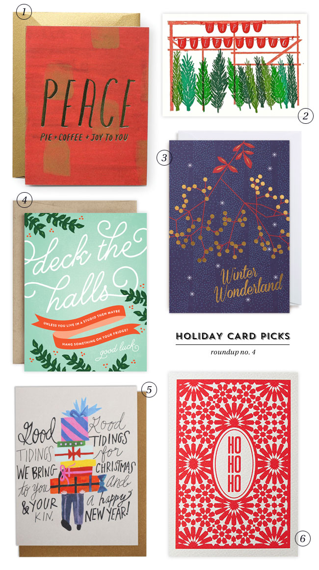 Holiday Card Picks : Roundup No. 4