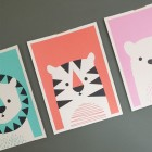 Leo the Lion, Charlie the Tiger & Lucy the Bear Art Prints | Imaginary Beast