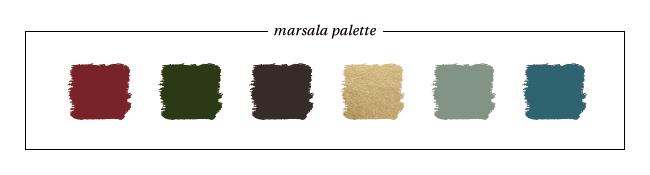 Marsala-Inspired Palette