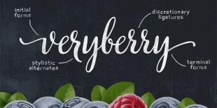 Veryberry Script Font by MyCreativeLand