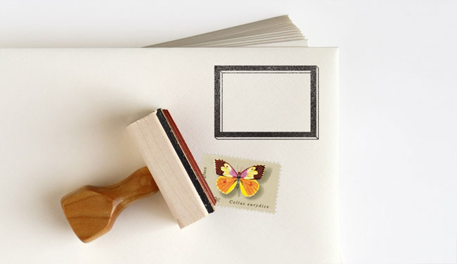 Postage Frame Rubber Stamps by Anticipate