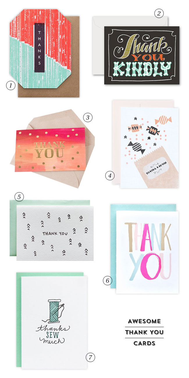 7 Awesome Thank You Cards Paper Crave