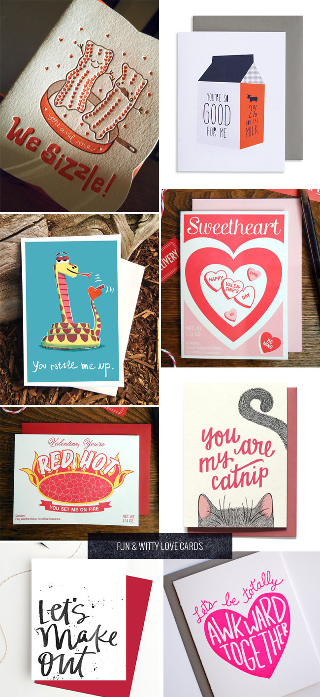 Fun & Witty Valentine's Day and Love Cards