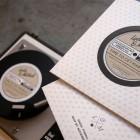 Letterpress Record Album Wedding Invitations | Printing by El Calotipo