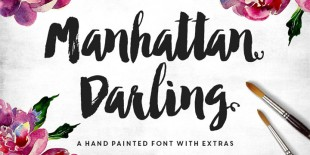 Manhattan Darling Script Font by Make Media Co.