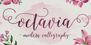 Octavia Script Font by AF Studio