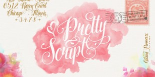 Pretty Script Font by Decade Type Foundry