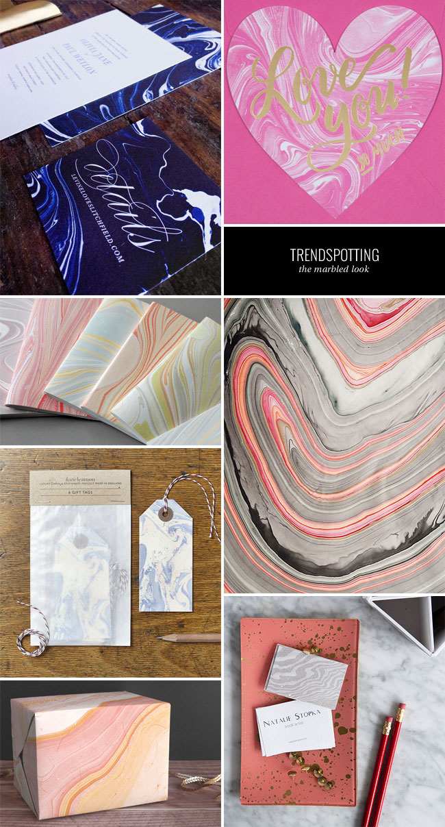 Trendspotting : The Marbled Look