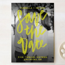Vogue Save the Date Cards