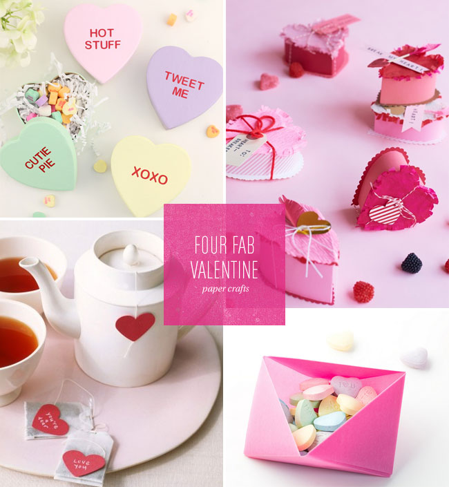4 Fab Valentine's Day Paper Craft Ideas