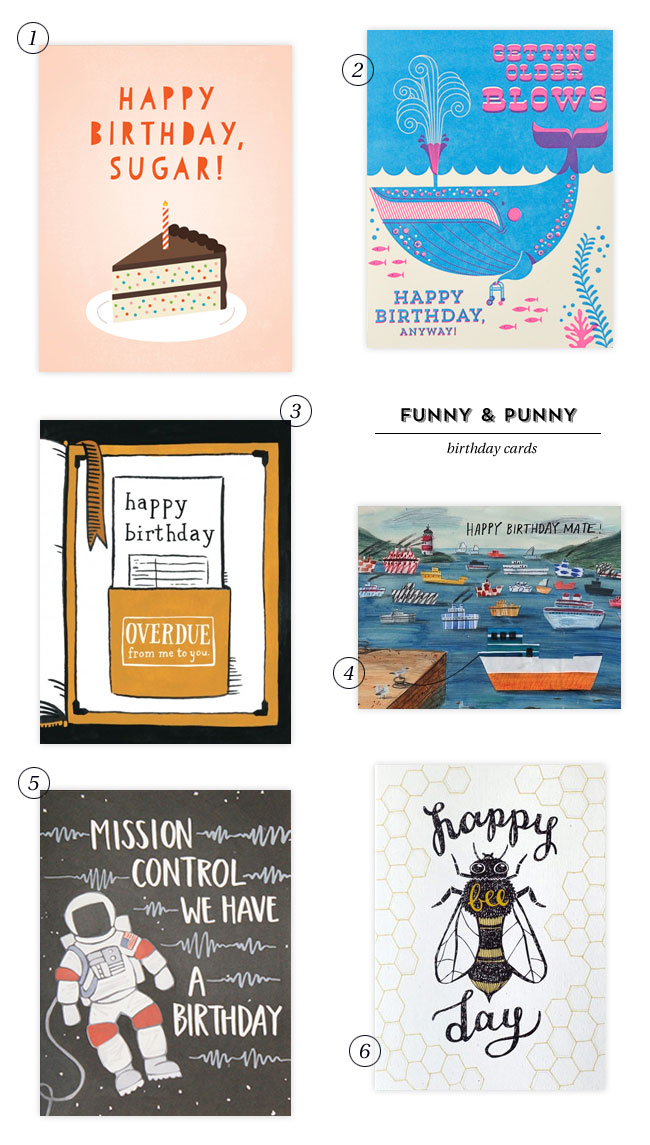 Funny & Punny Birthday Cards