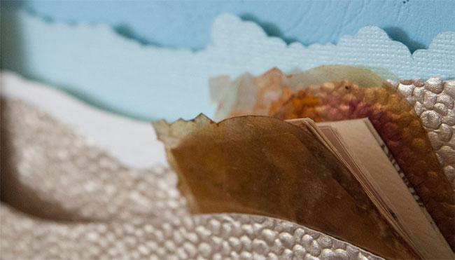 Nature Bound Seashell Miniature Book Detail | Janet Guertin