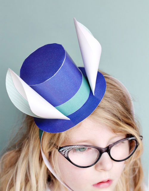 Printable Easter Hat Paper Craft by Smallful