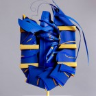 Blue Lobster Paper Scuplture by Benja Harney for Adidas Australia