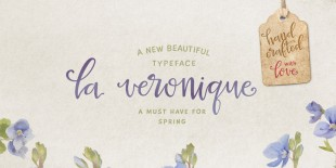 La Veronique Script Font by My Creative Land