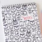 Owl Spiral Bound Notebook by Honizukle
