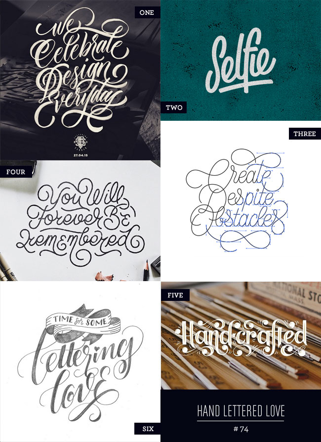Hand Lettered Love #74