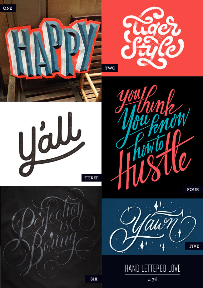 Hand Lettered Love #76