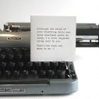 Anti-Social Media Type Cards from Fluid Ink Letterpress