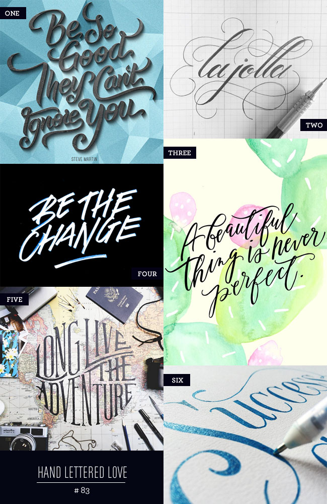 Hand Lettered Love #83