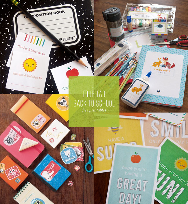 Back to School Freebies / Free Printables