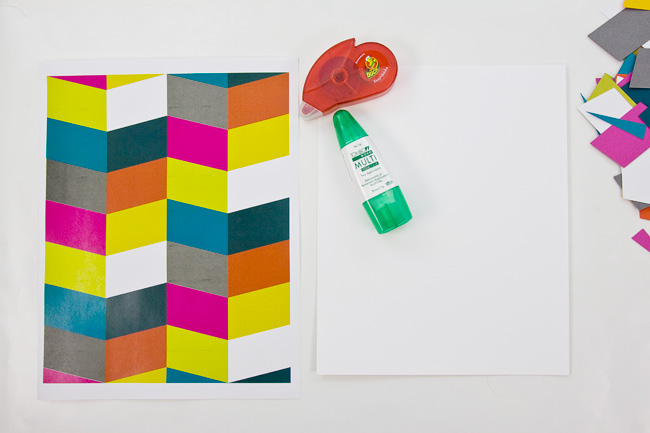 DIY Die Cut Wall Art : Pattern Guide