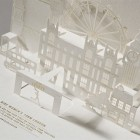 Laser Cut + Gold Foil We Run London 10K Invitations by Happycentro