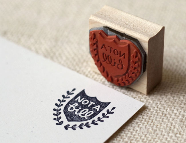 Not a Bill Rubber Stamp by Wit & Whistle