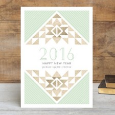 Aztec Business Holiday Cards by Elizabeth Victoria Designs
