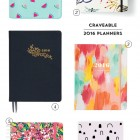 Craveable 2016 Planners / Agendas