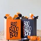 DIY Die Cut Halloween Treat Bags from Kbecca.com