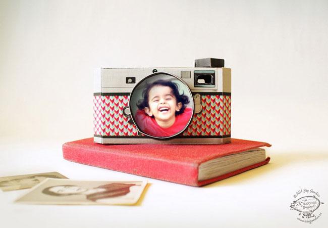 Sky Goodies DIY Paper Camera