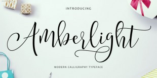Amberlight Font by Get Studio