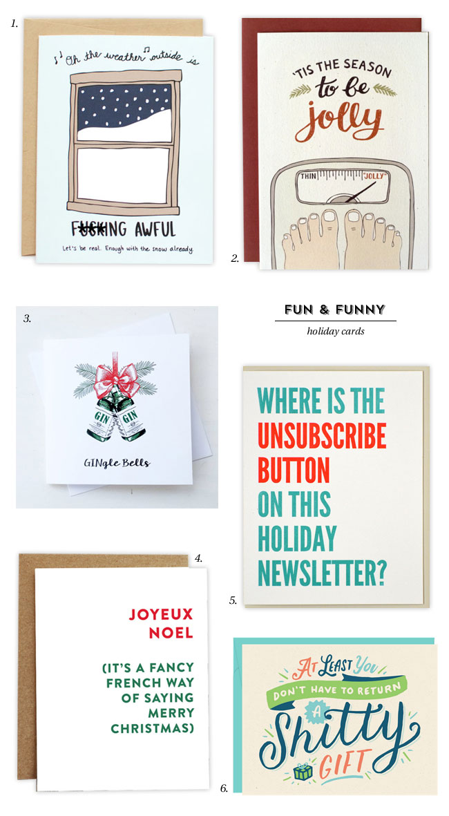 Fun funny holiday cards paper crave fun funny holiday cards m4hsunfo