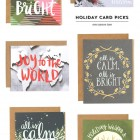Holiday Card Picks : One Canoe Two