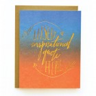 Insert Quote Letterpress Card by Wild Ink Press