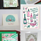 Illustrated Letterpress Holiday Cards from Hello! Lucky, a. favorite, Fugu Fugu Press, and more!