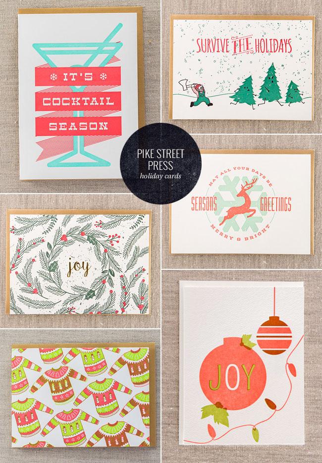 A Letterpress Christmas 2015 : Pike Street Press
