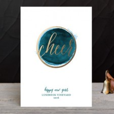 Modern Cheer Business Holiday Cards by Paper Dahlia