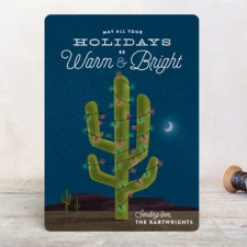 Cactus Business Holiday Cards by Ann Gardner