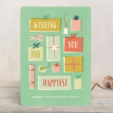Gifts Holiday Cards by Olivia Kanaley