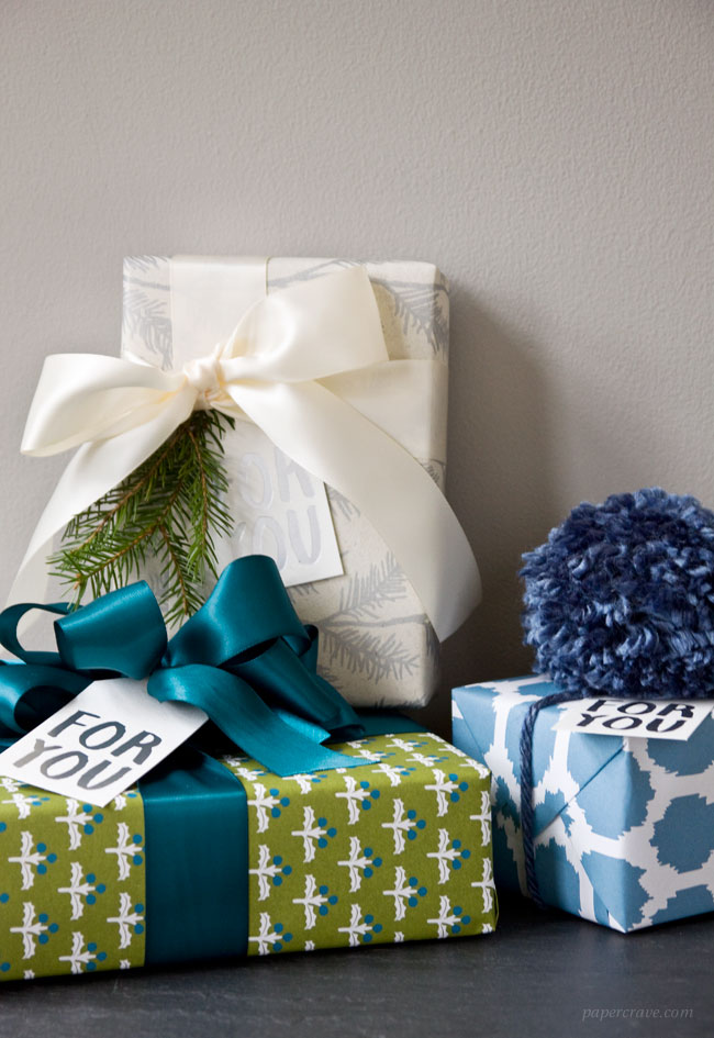 Holiday Gift Wrap Ideas for #12daysofSmock