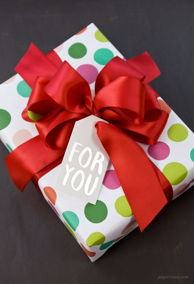 How to Make a Big & Loopy Satin Gift Bow