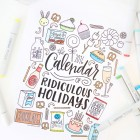 Free Printable Coloring Calendar Pages from Damask Love