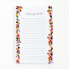 Happy Dots To Do List Notepad from Paper Lovely
