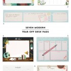 7 Modern Tear-Off Desk Pads