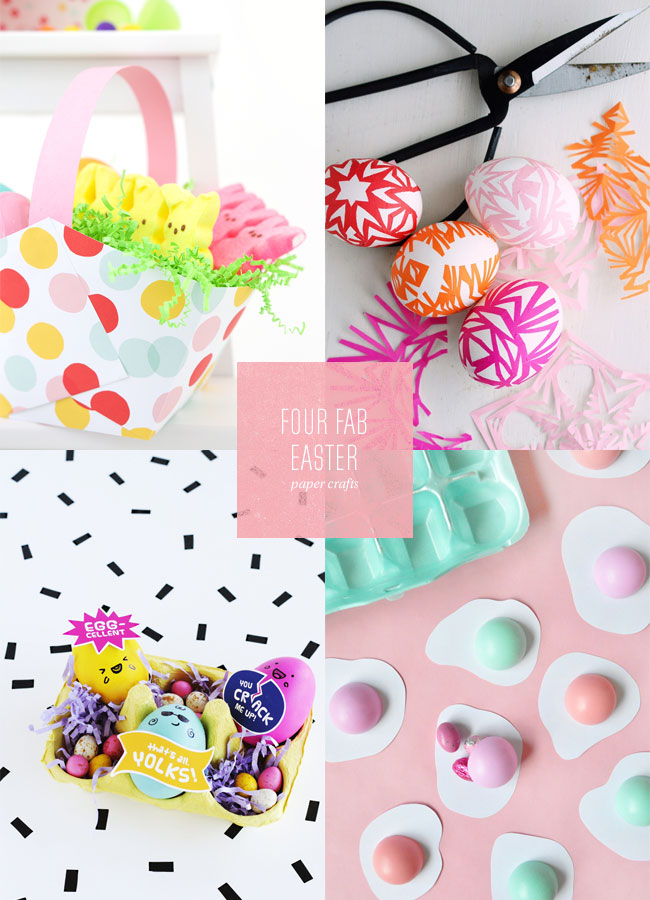 4 Fab Easter Paper Craft Project Ideas Paper Crave