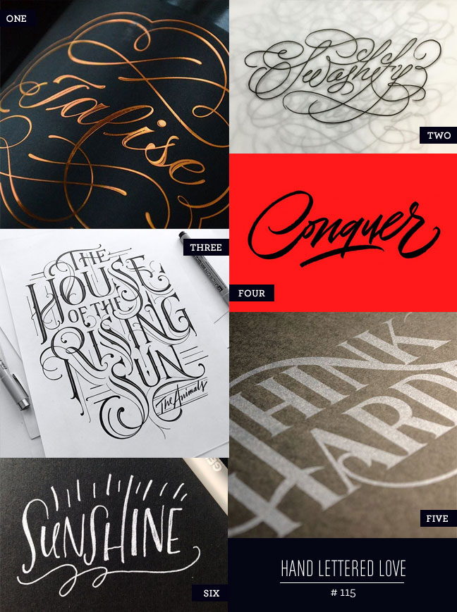 Hand Lettered Love #115