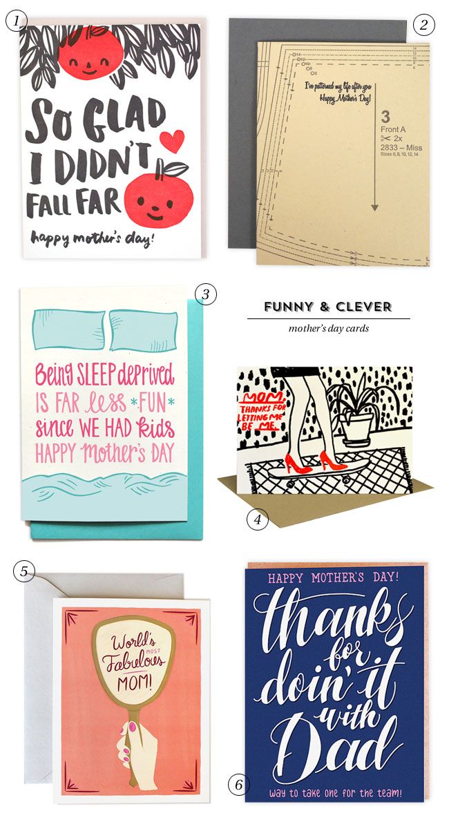 Funny & Clever Mother's Day Cards