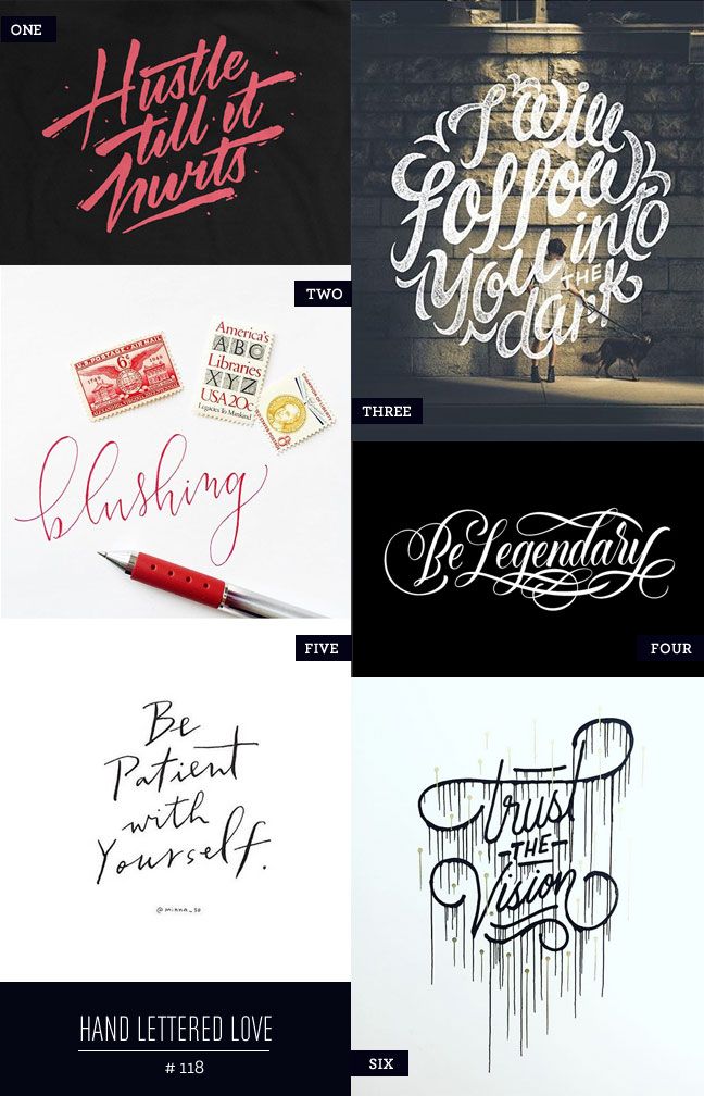 Hand Lettered Love #118